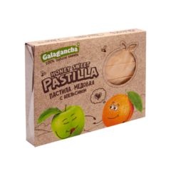 Pastilla Пастила медовая с апельсином Galagancha 190г