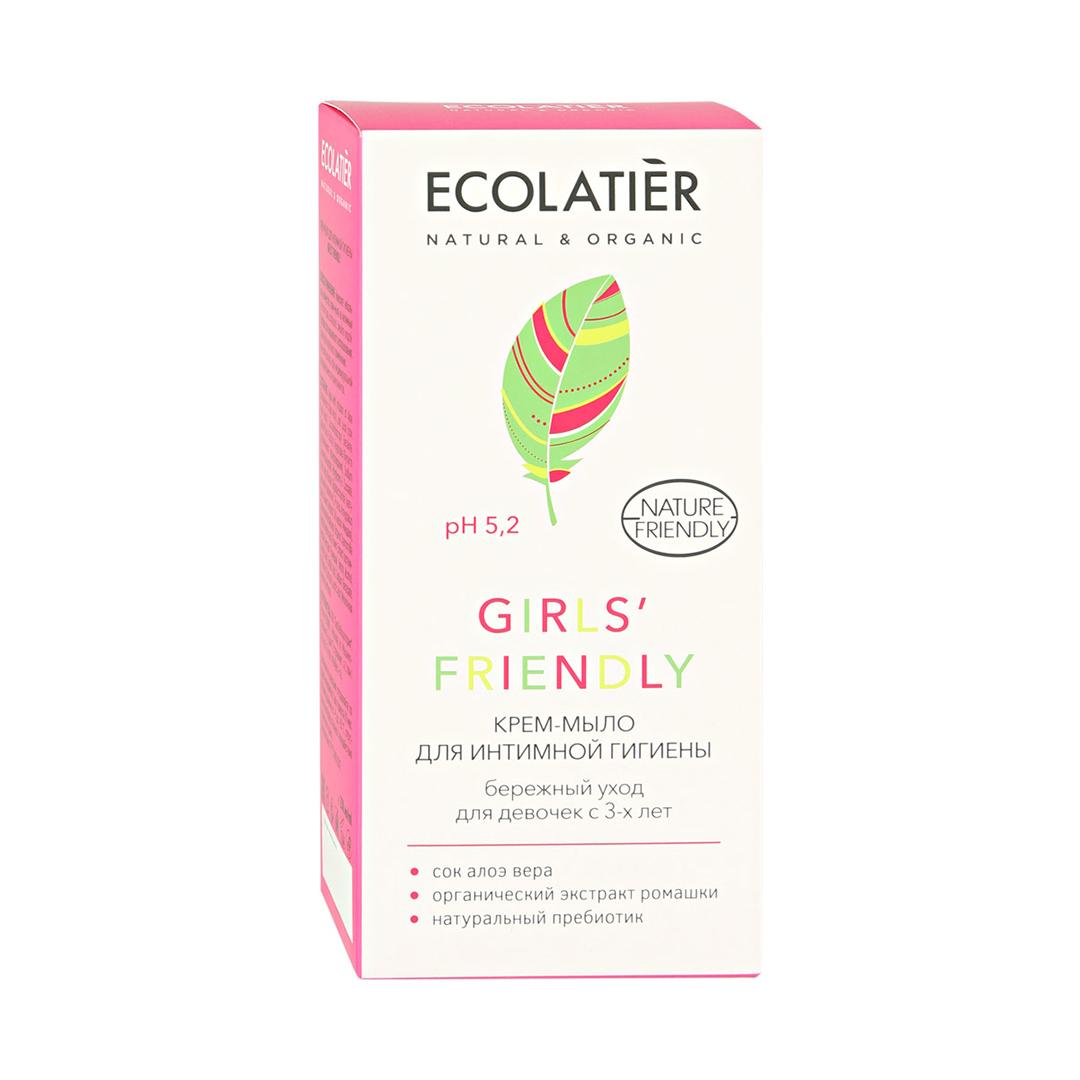 Ecolatier Girls Friendly Крем-мыло для интимной гигиены для девочек с 3-х лет 250 мл.