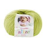 Пряжа Alize Baby Wool 612 фисташка