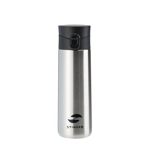 Термокружка серебристая (0,35 л) STINGER HD-350-35