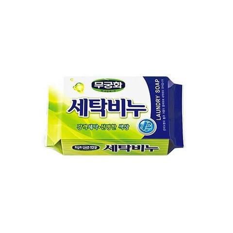 Mukunghwa Laundry soap Универсальное хозяйственное мыло для стирки и кипячения 230 гр