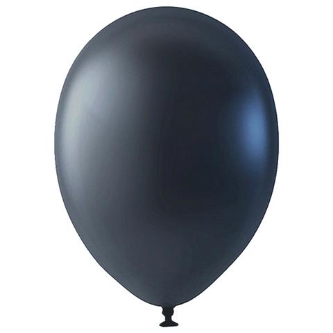 Шар Черный Металлик, 30 см