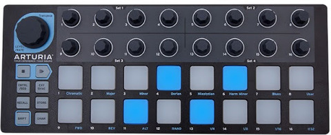 Контроллер Arturia BeatStep Black Edition