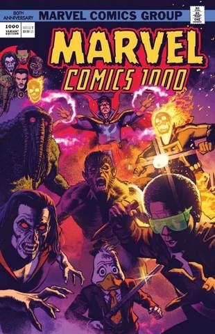 Marvel Comics #1000. Золотая Коллекция. Эксклюзивное издание для 28ой (Б/У)