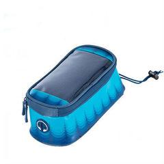 Велосипедная сумка на раму с отделением под смартфон Roswheel Toss (Голубая) L 121024LSL-B