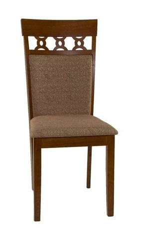 Стул 8187 Espresso деревянный с мягким сиденьем МиК дуб в красноту