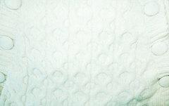 Папитто. Конверт вязаный на пуговицах полушерстяной с подкладкой велсофт, экрю вид 2