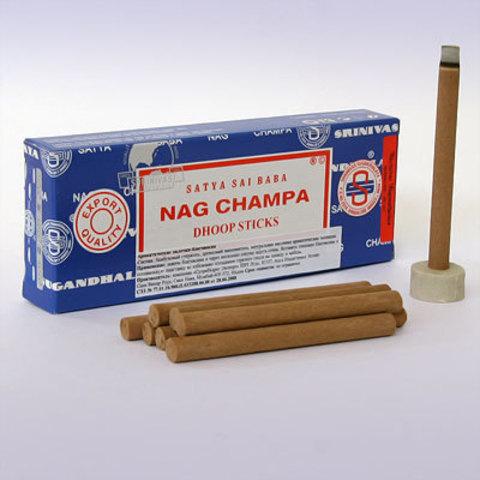 Благовония Satya Nag champa (безосновные, 10 шт)