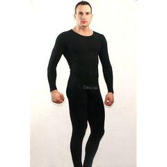 Мужское термобелье неутепленное черное Calvin Klein Black
