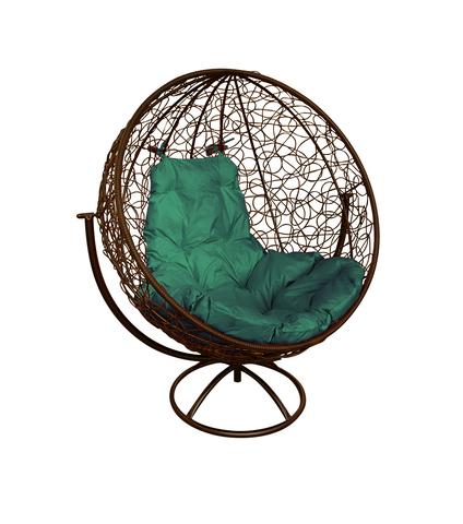 Кресло вращающееся Milagro brown/green