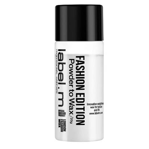 LABEL. M Fashion Edition: Пудра-воск для волос (Powder to Wax), 20г