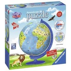 Puzzle Children's World Globe 180 pcs