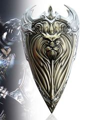 World of Warcraft Alliance Golden Shield Metal