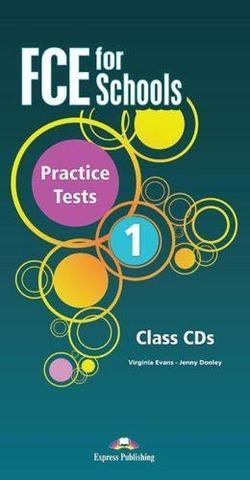 FCE For Schools Practice Tests 1. Class CD's  (set of 5). Комплект дисков, содержащий аудирование к тестам. Действующий формат.