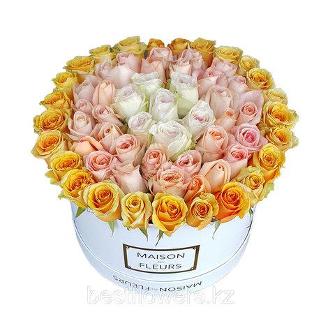 Коробка Maison Des Fleurs Микс 11