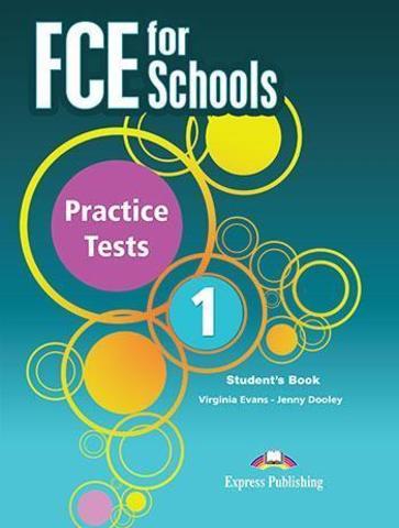 FCE for Schools 1 Practice Tests Student's book with Digibook app. Сборник тестов (с электронным приложением) действующий формат.
