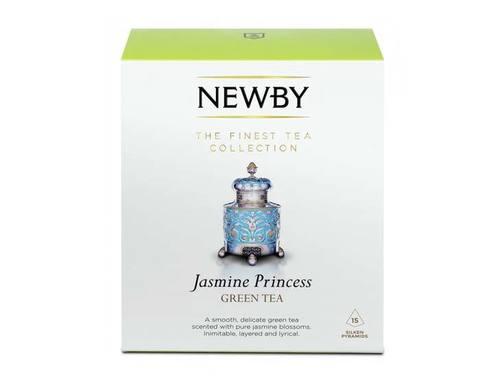 Чай зеленый в пирамидках Newby Jasmine princess, 15 пак/уп
