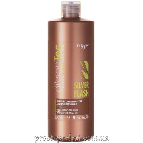 Dikson Silver Flash Shampoo - Шампунь-нейтрализатор желтизны