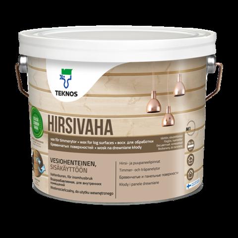 TEKNOS HIRSIVAHA/ТЕКНОС ХИРСИВАХА воск для обработки бревенчатых поверхностей