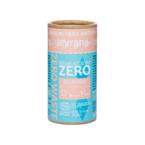 Твердый дезодорант ZERO, 75 гр.