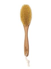 Щетка для сухого массажа, лимфодренажный массаж, ЖЕСТКАЯ (натуральная щетина), массажная ЧУДО - щетка для глубокой проработки Beauty365 (Beauty 365, Бьюти365, Бьюти)