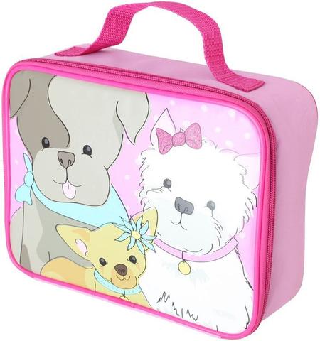 Термосумка детская Thermos Puppy Days Soft Kit (розовая)