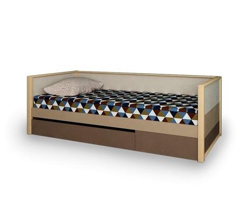 Кровать с фальшпанелью и ящиком  Робин Вуд