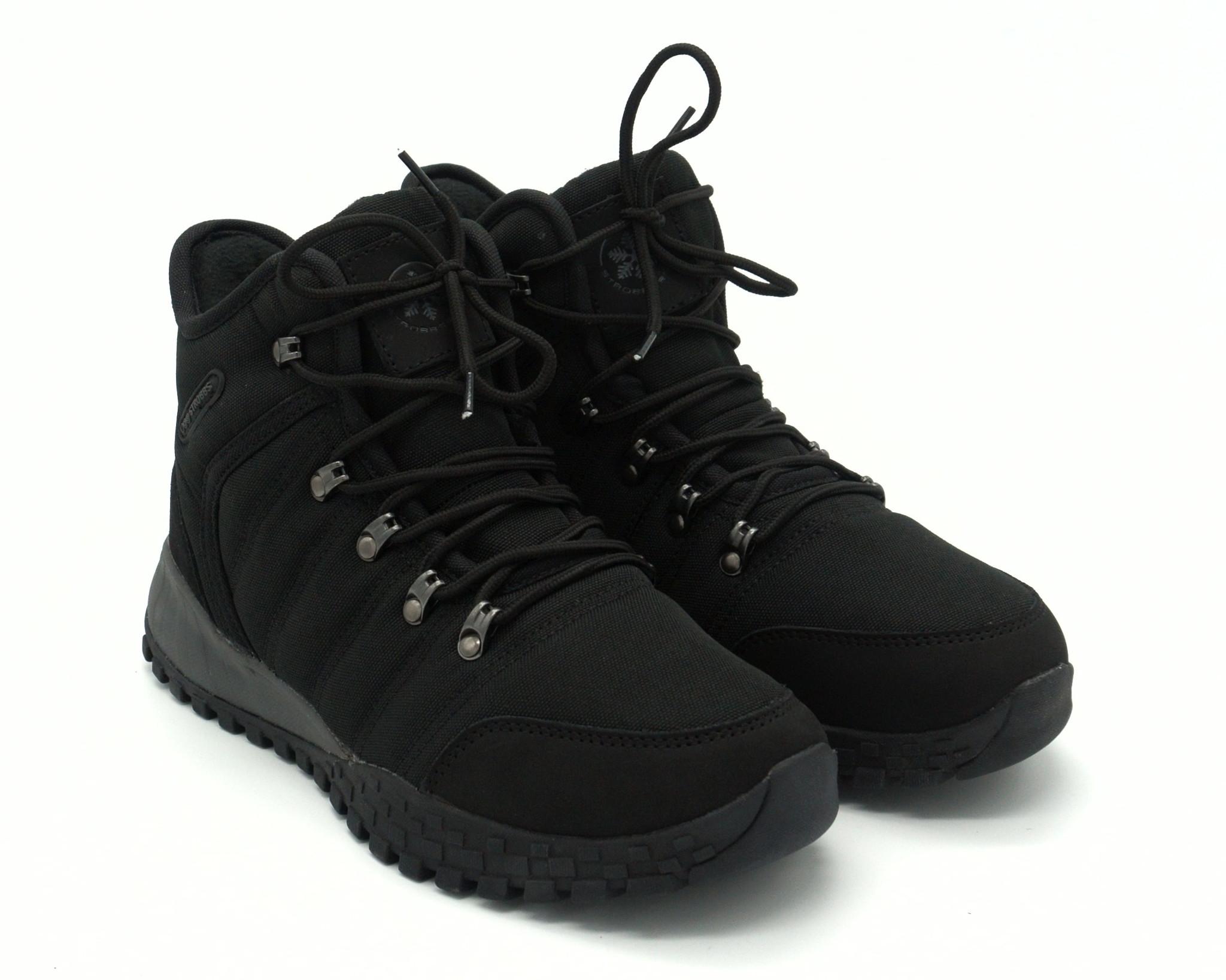 Текстильные зимние ботинки на мембране