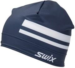 Шапка Swix Quantum 75103 темно-синий/снежно-белый