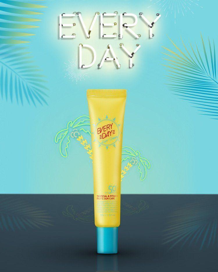 Крем ежедневный солнцезащитный SPF50+ PA++++ A'PIEU Everyday Sun Cream