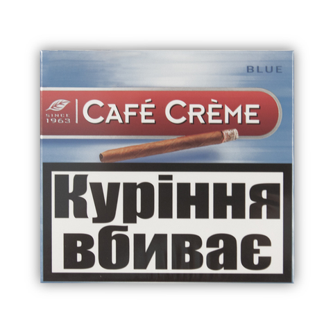 Сигары Cafe Creme Blue