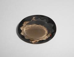Дымчатый кварц 31,5 x 23,5 мм овал (сертификат)