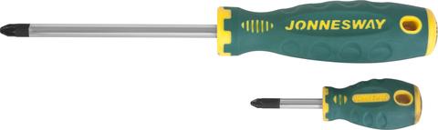 D71Z180 Отвертка стержневая POZIDRIV® ANTI-SLIP GRIP, PZ1x80
