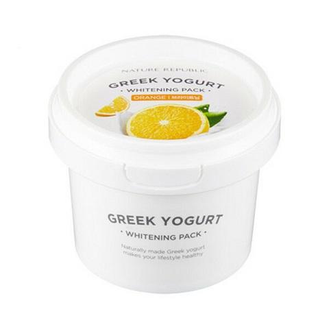 Nature Republic Greek Yogurt Whitening Pack Orange маска йогуртовая ночная с экстрактом апельсина