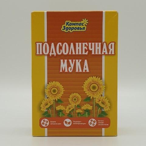 Мука Подсолнечная КОМПАС ЗДОРОВЬЯ, 300 гр