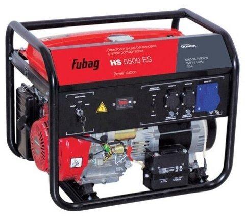 Кожух для бензинового генератора Fubag HS 5500 ES (5000 Вт)