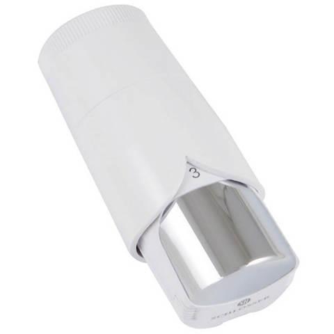 Термостатическая головка Dz Diamant Plus Белый-Хром