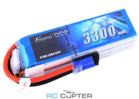АКБ Gens Ace 3300mAh 6S1P 60C 22.2V Lipo Battery Pack