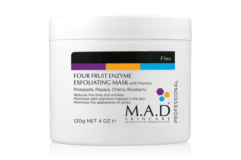 Энзимная мультифруктовая маска «Super Polish» Four Fruit Enzyme Exfoliating Mask, M.A.D. Skincare, 120 гр