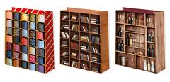 Пакет подарочный, Галстуки, книги, бокалы.. (микс) 33х45 см, 1 шт.