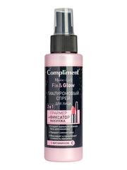 Compliment Гиалуроновый спрей для лица 2 в 1 Праймер+фиксатор макияжа