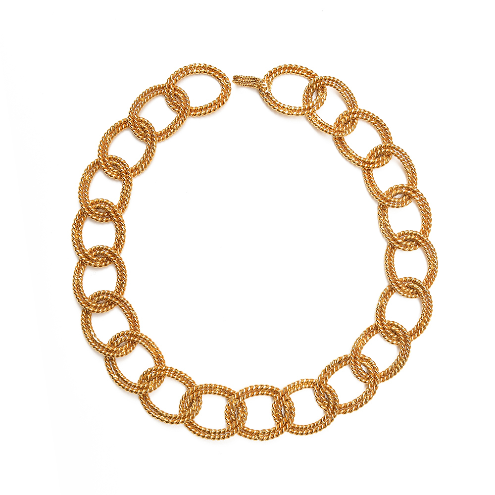 Chanel Chain-link Necklace