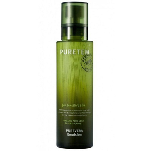 Welcos Puretem Purevera Emulsion восстанавливающая эмульсия для лица с экстрактом алоэ вера
