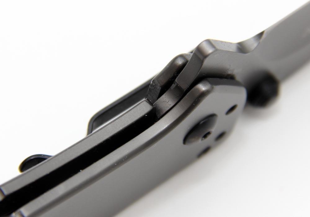 "Нож Kershaw 1556Ti Cryo II Assisted 3-1/4"" Plain Blade, Rick Hinderer Framelock Design - фотография"