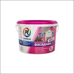 Краска в/д для фасадов и цоколей Dufa Profilux PL-112А (Белый)