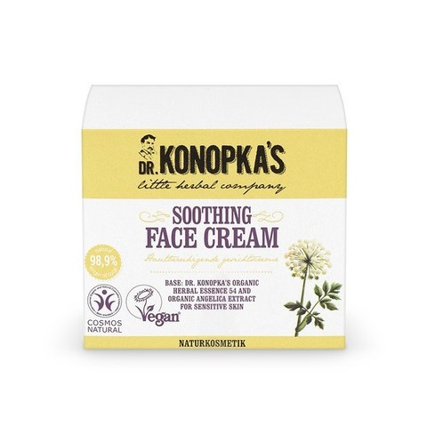 Крем для лица смягчающий, 50 мл (Dr.Konopka's)