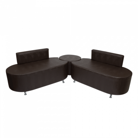 Комплект мебели для ожидания Милена