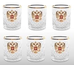 Хрустальный набор для виски со штофом «Президент», фото 3