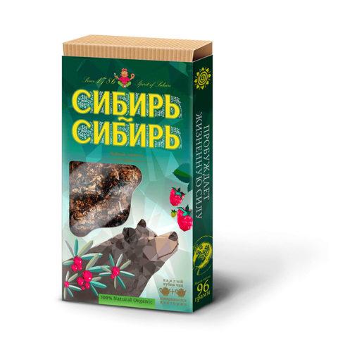 "Чай ""Сибирский пуэр"" сибирь-сибирь, плиточный 96 г"