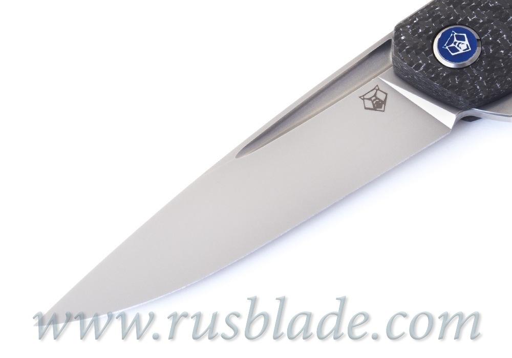 Shirogorov 111 M390 WHITE CF 3D groove MRBS - фотография